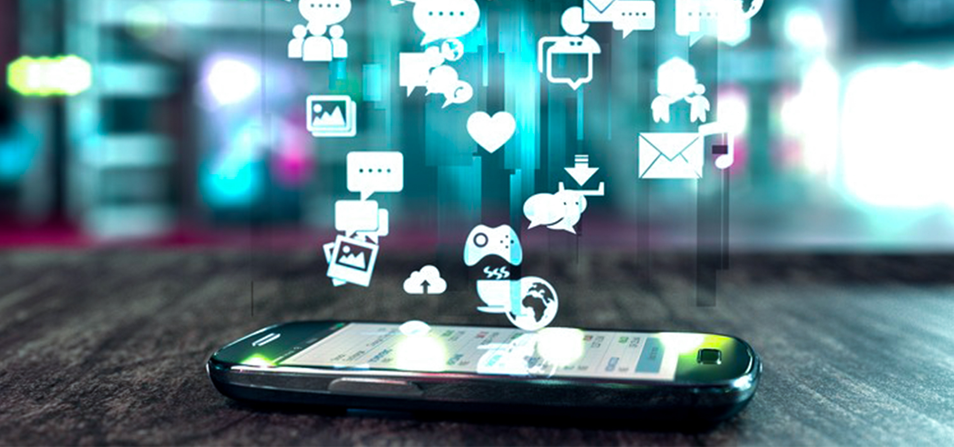 What is the future of mobile app development and communication?